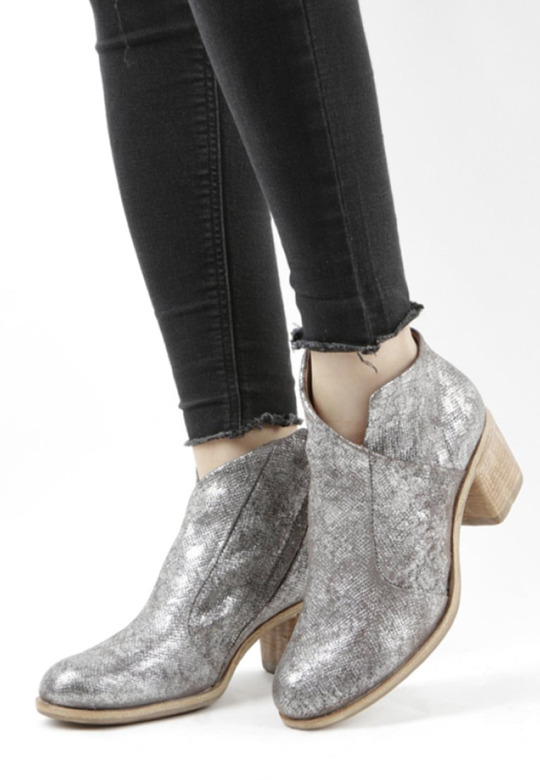 A.S.98 - Ankle boots - silver