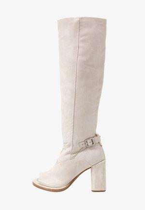 Botas de tacón - bianco