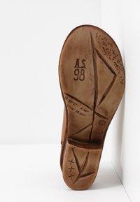 A.S.98 - Ankle cuff sandals - cognac - 5