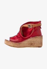 A.S.98 - Platform sandals - blood - 1