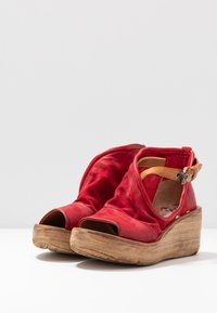 A.S.98 - Platform sandals - blood - 4