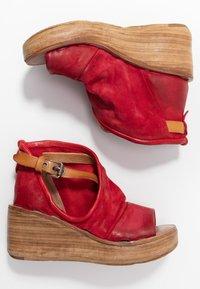 A.S.98 - Platform sandals - blood - 3