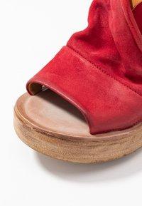 A.S.98 - Platform sandals - blood - 2