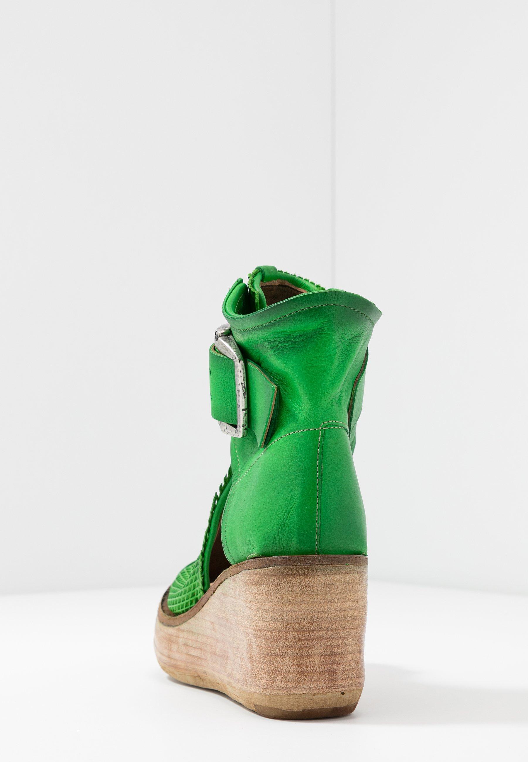 A.S.98 Platåsandaletter - verde