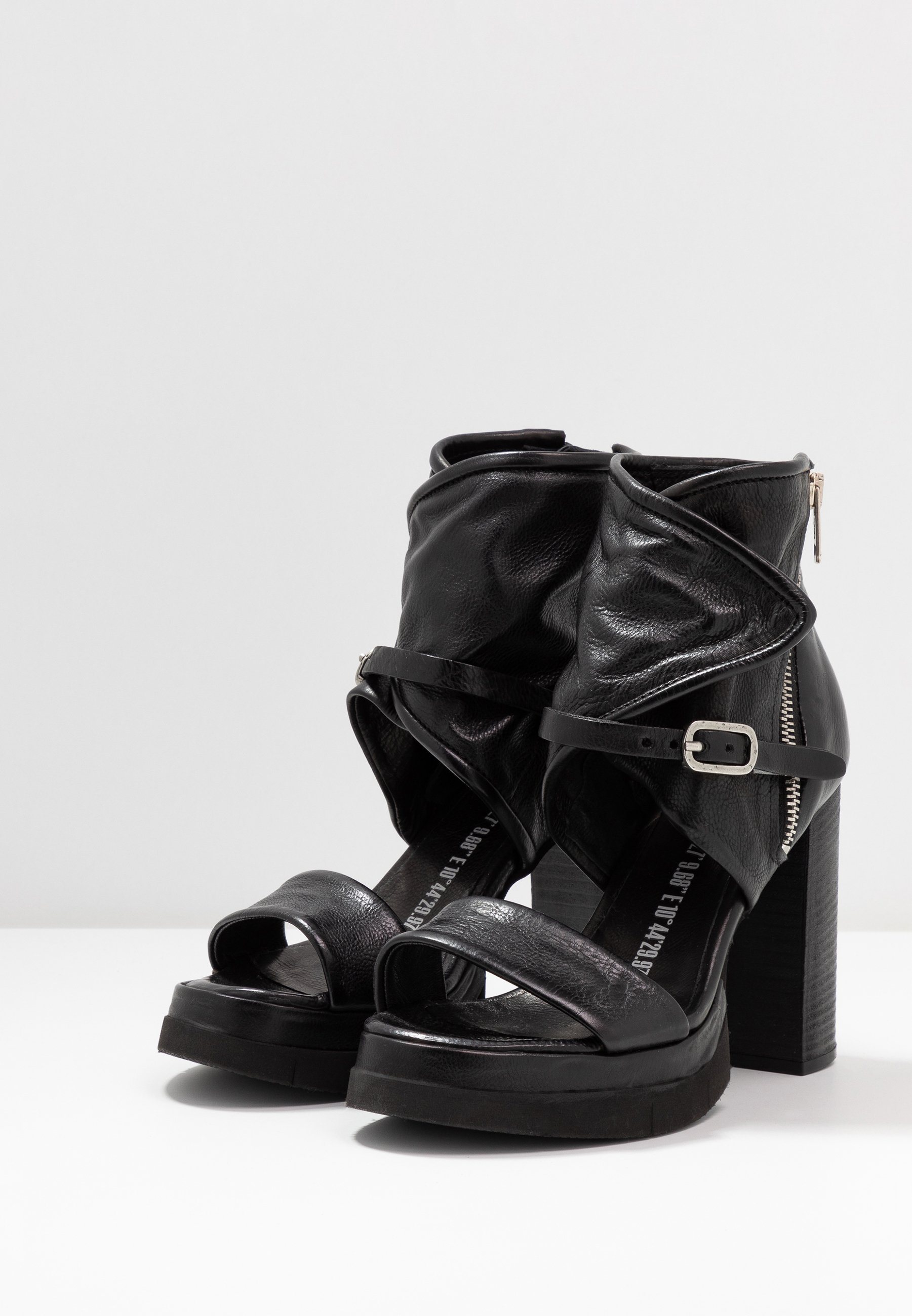 A.s.98 High Heeled Sandals - Nero