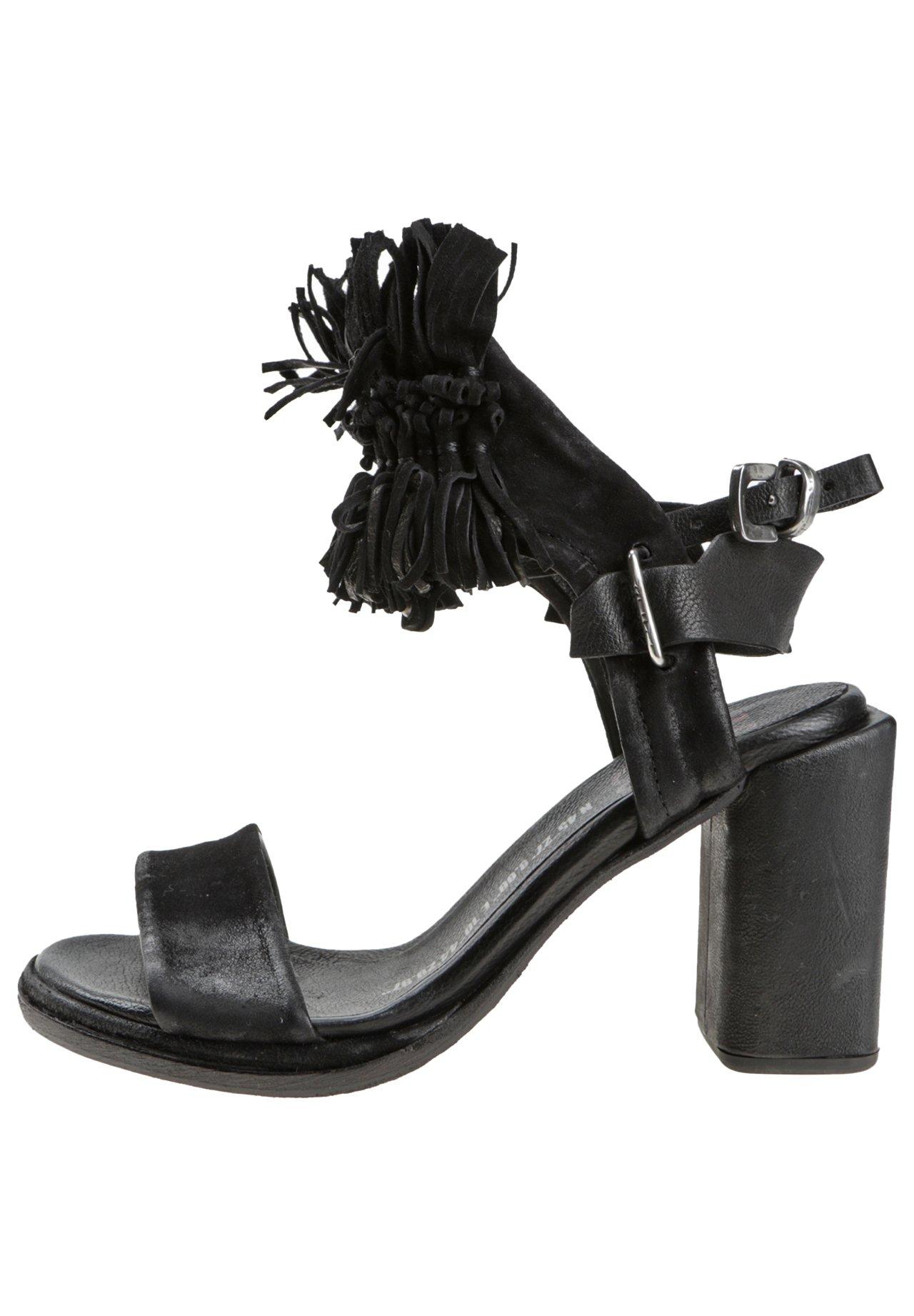 A.S.98 High heeled sandals - black