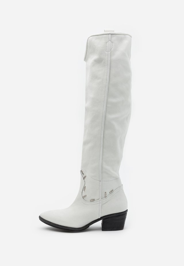 Over-the-knee boots - bianco