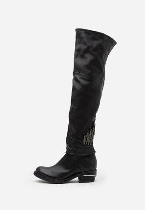 Stivali sopra il ginocchio - nero