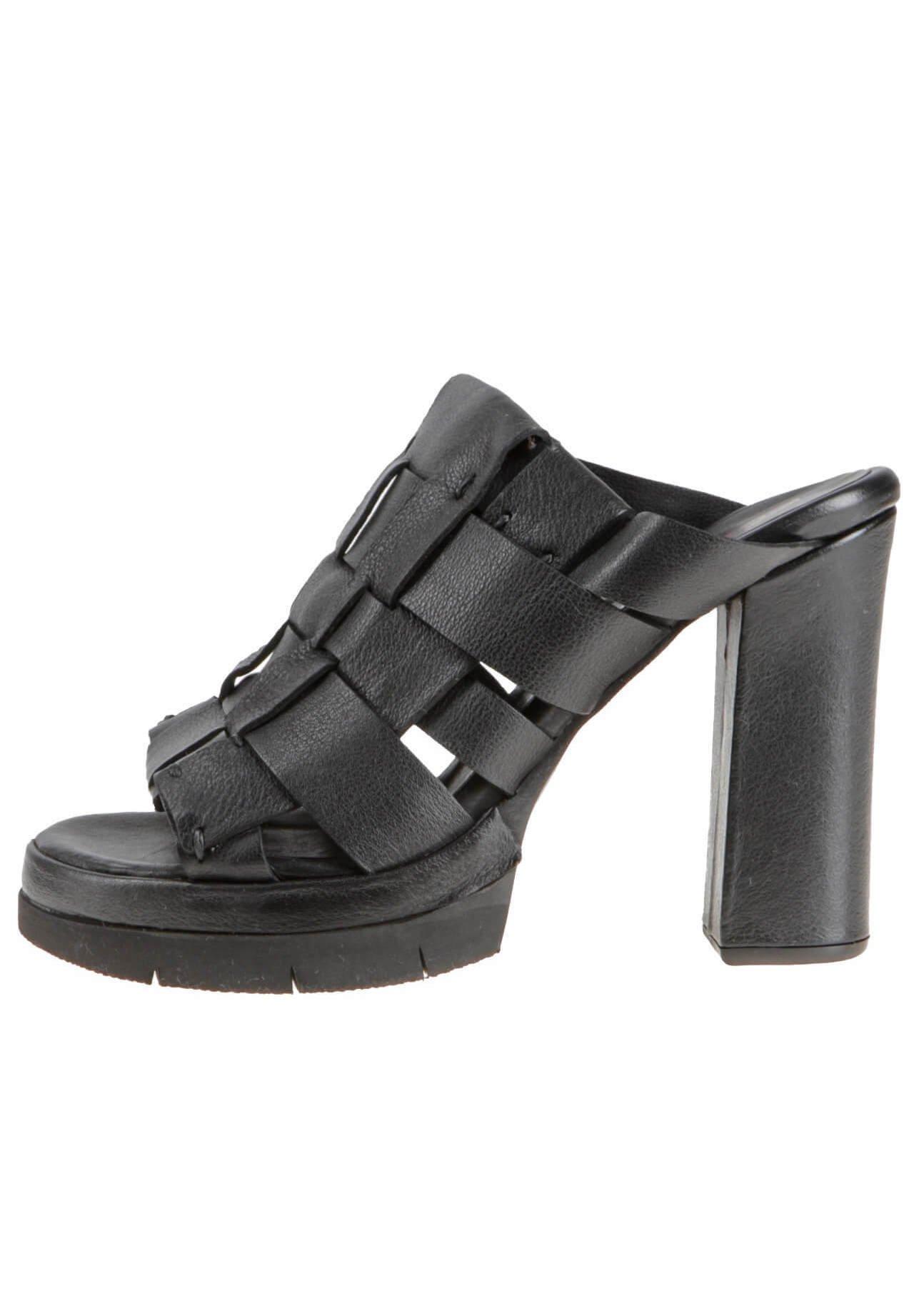 A.S.98 High heeled sandals - schwarz