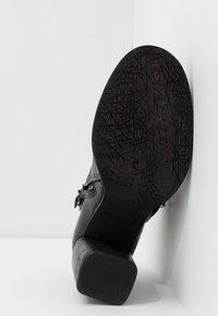 A.S.98 - Kotníková obuv na vysokém podpatku - nero - 6