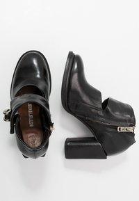 A.S.98 - Kotníková obuv na vysokém podpatku - nero - 3