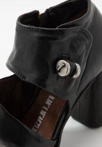 A.S.98 - Kotníková obuv na vysokém podpatku - nero - 2
