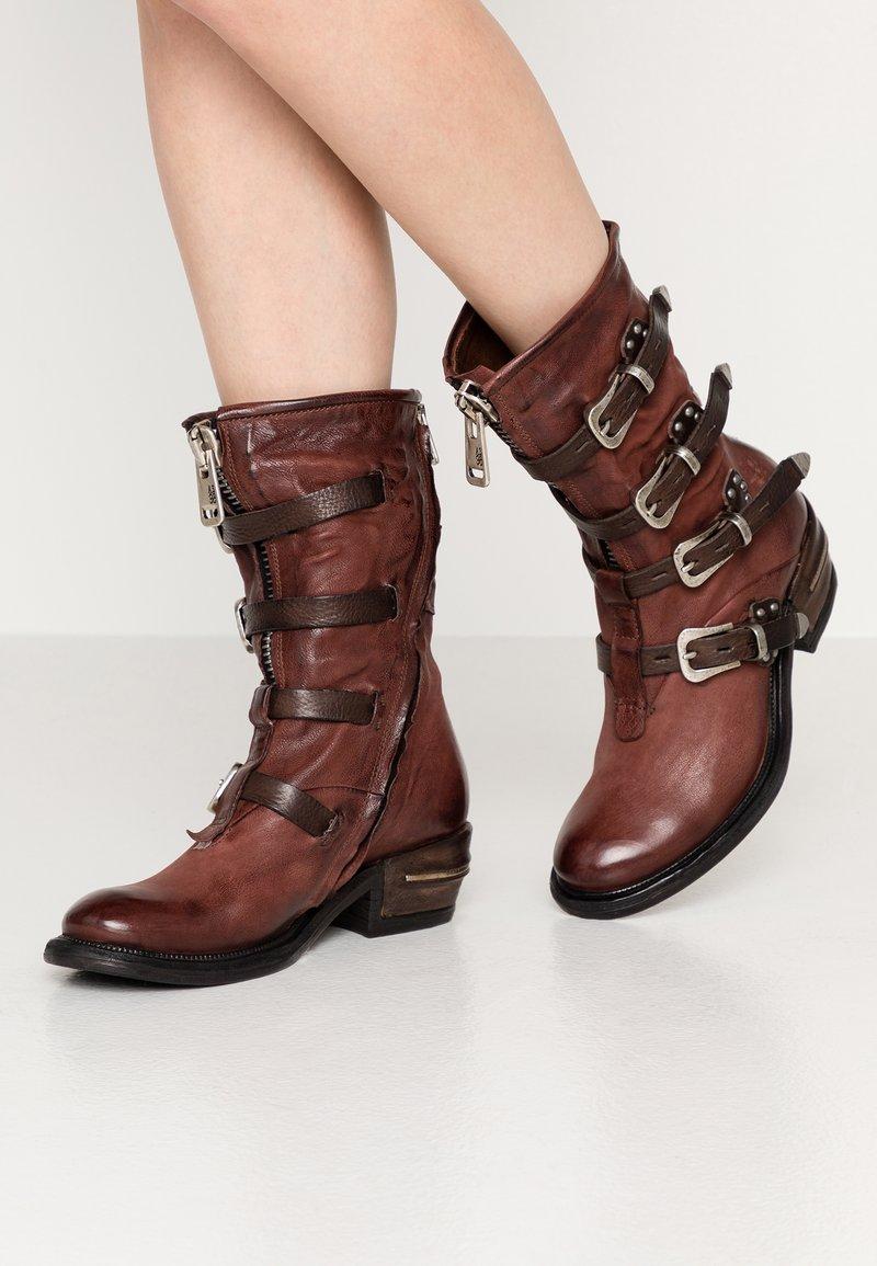 A.S.98 - Cowboy/Biker boots - sequoia