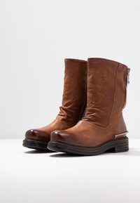 A.S.98 - Cowboy/Biker boots - calvados - 4