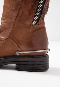 A.S.98 - Cowboy/Biker boots - calvados - 2