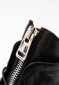 A.S.98 - Cowboy/biker ankle boot - nero - 2
