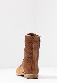 A.S.98 - Šněrovací kotníkové boty - cognac - 5