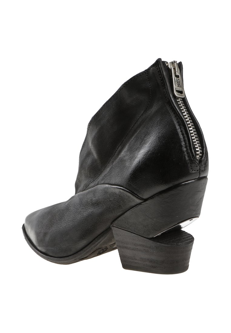 A.S.98 High heeled ankle boots - black
