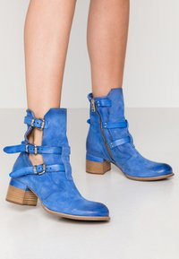 A.S.98 - Botines camperos - blue - 0