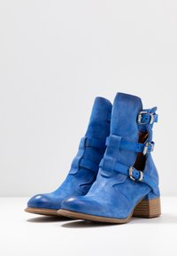 A.S.98 - Botines camperos - blue - 4