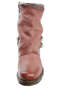 A.S.98 - Cowboy/biker ankle boot - red - 5