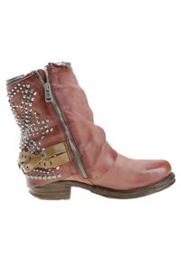 A.S.98 - Cowboy/biker ankle boot - red - 4