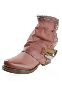 A.S.98 - Cowboy/biker ankle boot - red - 2