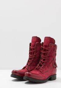 A.S.98 - Cowboy- / bikerstøvlette - cardinal - 4
