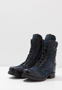 A.S.98 - Kovbojské/motorkářské boty - tornado - 4