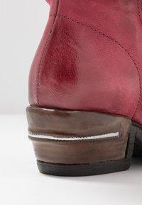 A.S.98 - Kovbojské/motorkářské boty - cardinal/testa di moro - 2
