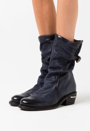 Cowboy/Biker boots - tornado/testa di moro