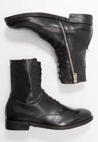 A.S.98 - VADER - Botines con cordones - nero - 1