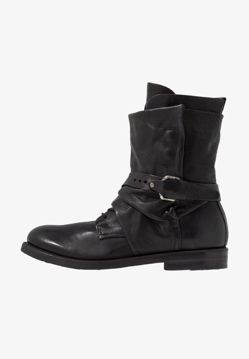 A.S.98 - SAMURAI - Lace-up boots - nero