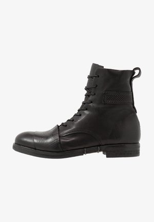 ACTON - Lace-up ankle boots - nero