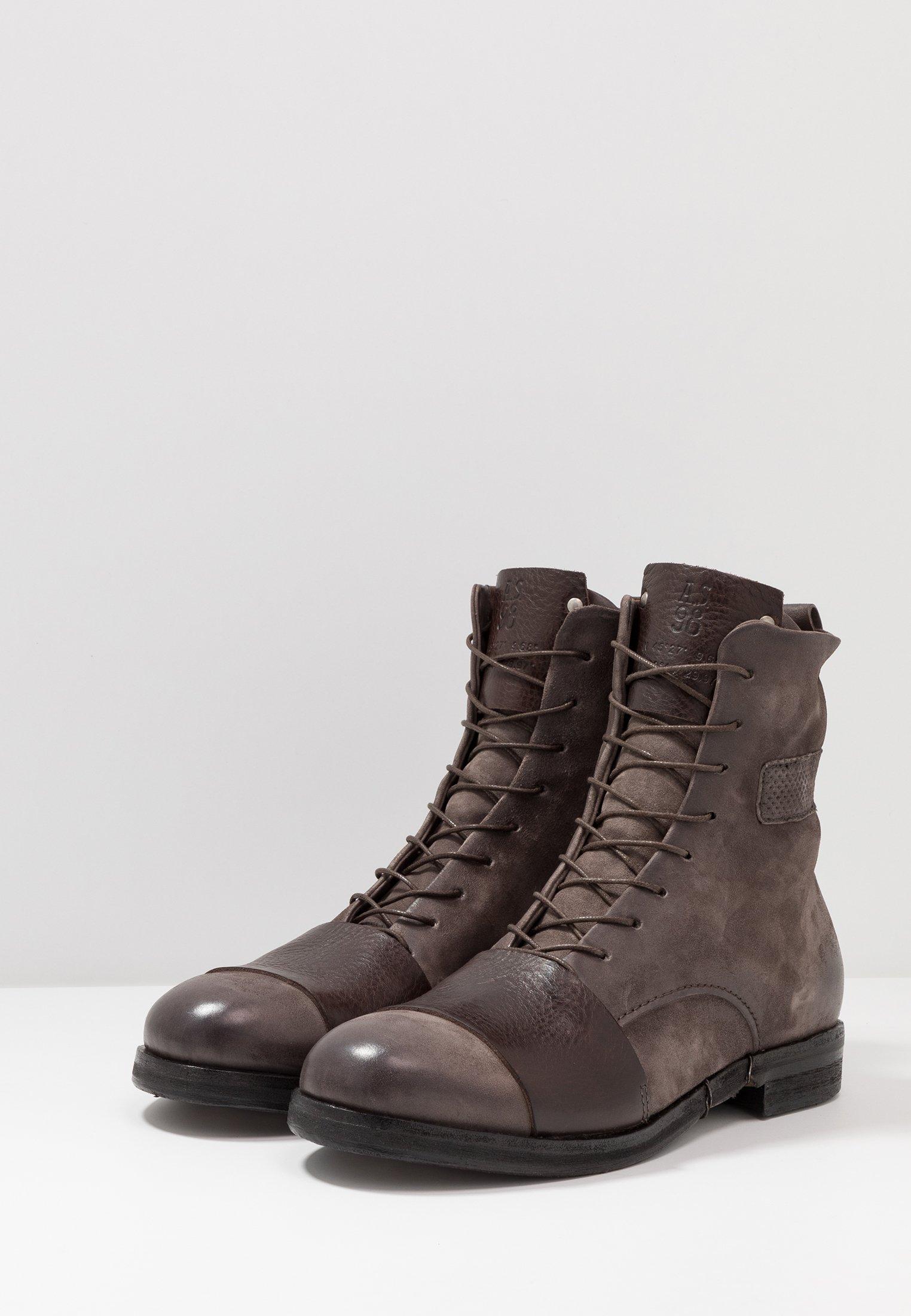 A.S.98 SAMURAI Stivali con i lacci nero Zalando.it