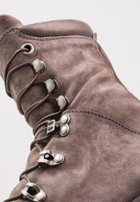 A.S.98 - CELTIKA - Lace-up ankle boots - smoke - 5