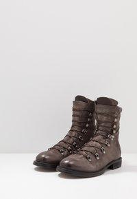 A.S.98 - CELTIKA - Lace-up ankle boots - smoke - 2