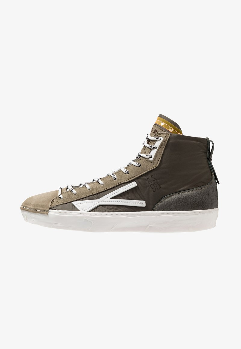 A.S.98 - High-top trainers - militare/smok