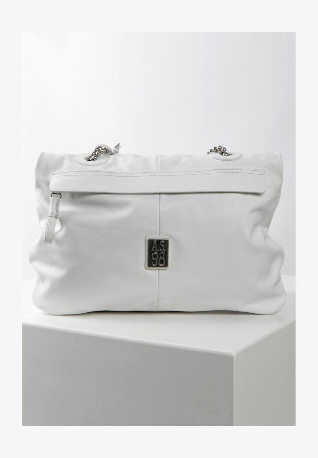 Across body bag - weiß