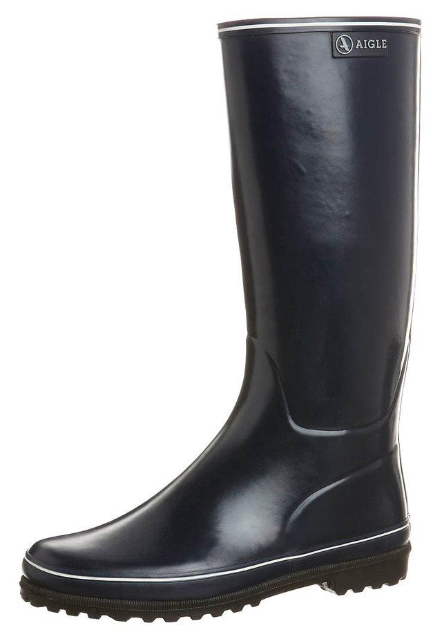 VENISE - Stivali di gomma - marine/blanc