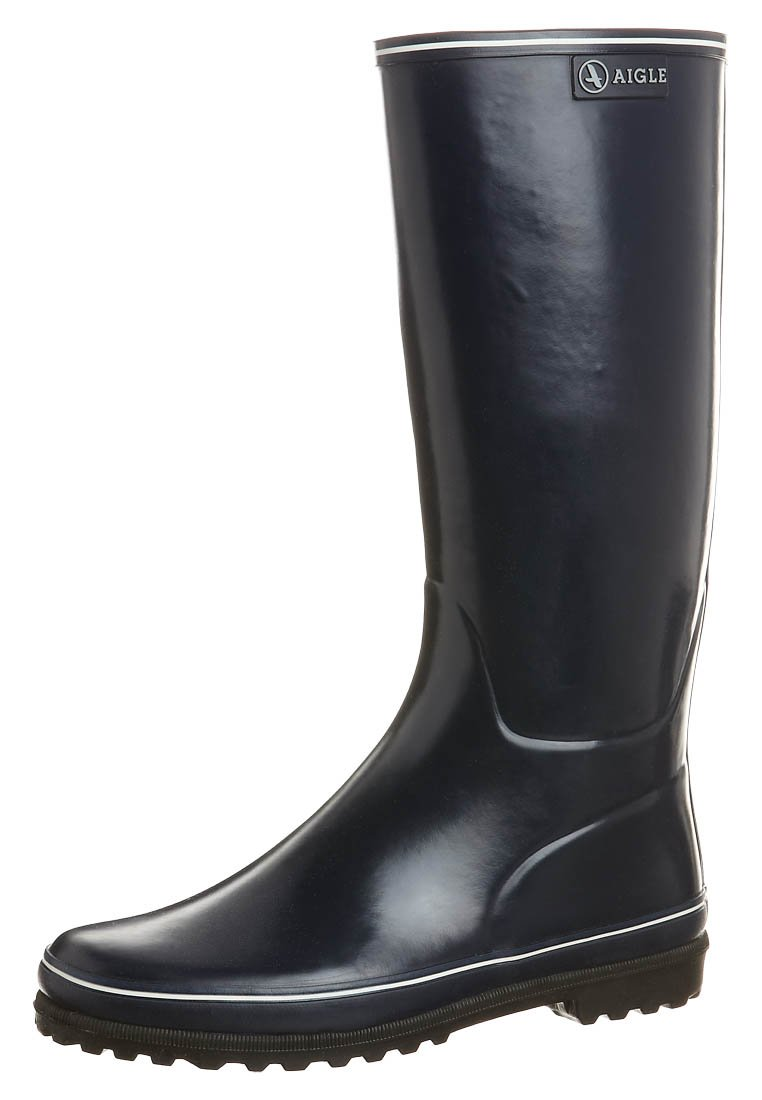 Aigle - VENISE - Wellies - marine/blanc
