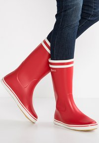 Aigle - MALOUINE - Wellies - rouge - 0