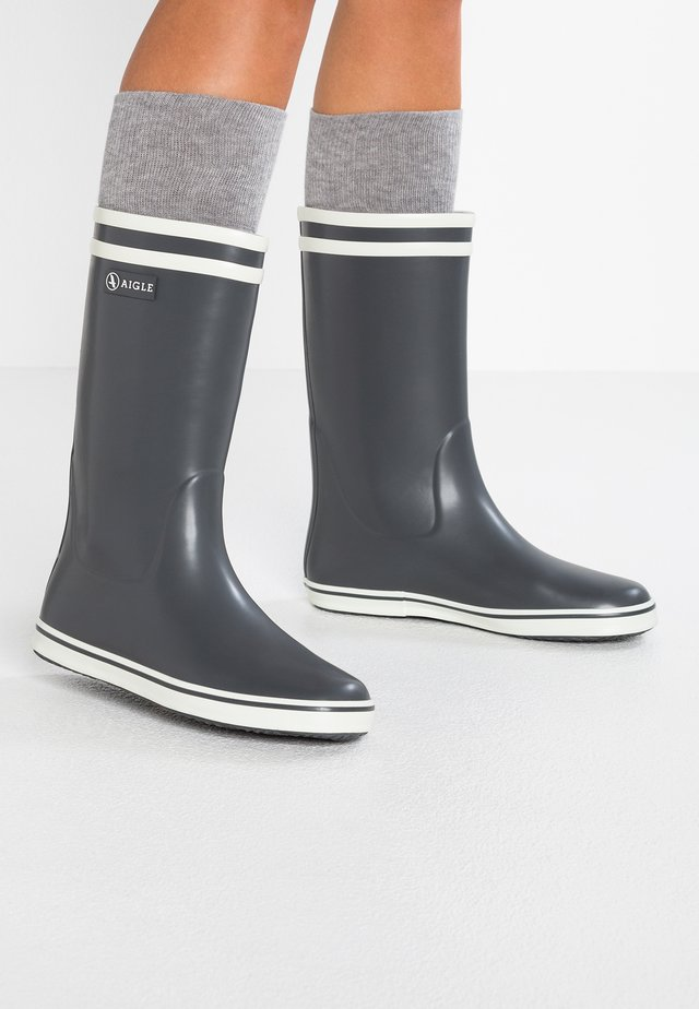 MALOUINE - Wellies - charcoal