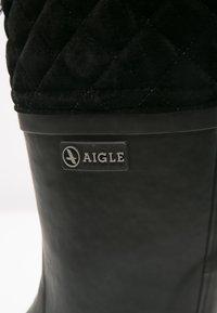 Aigle - POLKA GIBOULÉE - Wellies - new noir - 5