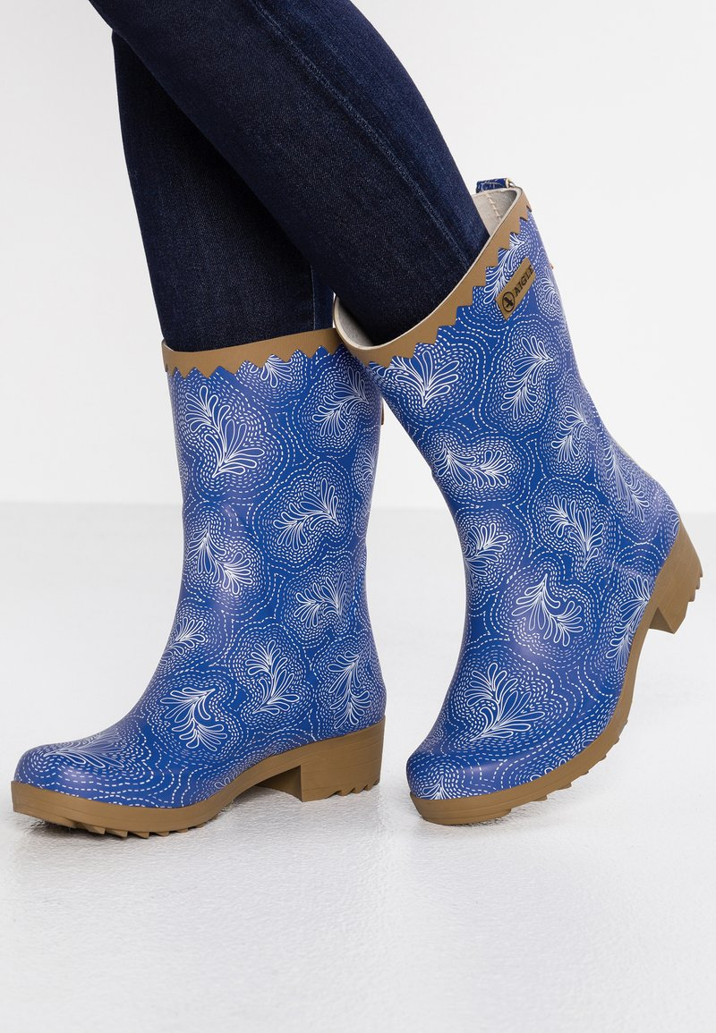 Aigle - VICTORINE BOTTILON - Wellies - blue