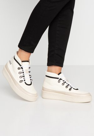 SKILON MID - Ankle boots - offwhite