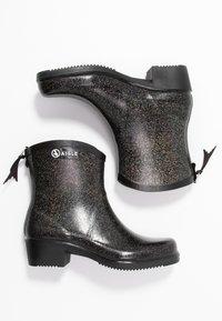 Aigle - MISS JULIETTE BOTTILON PRINT - Bottes en caoutchouc - noir/glitter - 3