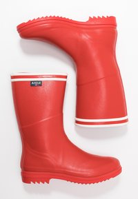 Aigle - CHANTEBOOT STRIPES - Wellies - rouge - 3