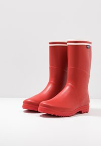 Aigle - CHANTEBOOT STRIPES - Wellies - rouge - 4