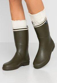 Aigle - CHANTEBOOT - Bottes en caoutchouc - kaki - 0
